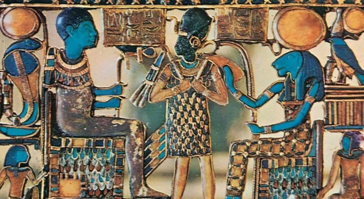 Chestnut from Tutankhamon's grave.