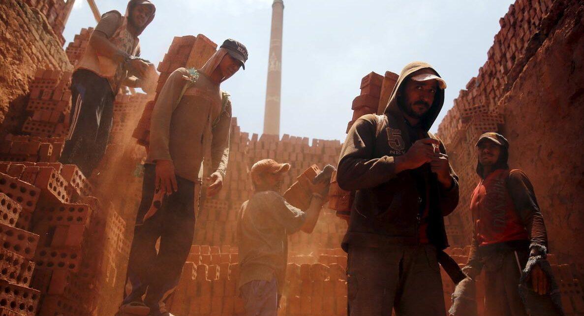Egypt has an extensive production of bricks