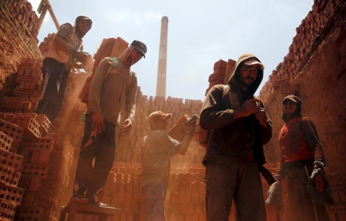 Egypt has an extensive production of bricks