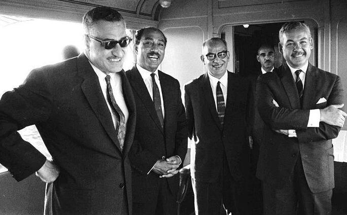Four Egyptian leaders
