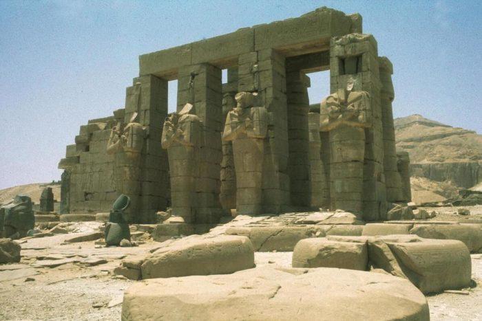 Ramses 2's tomb temple, Ramesseum