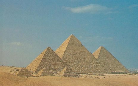 construction of pyramids