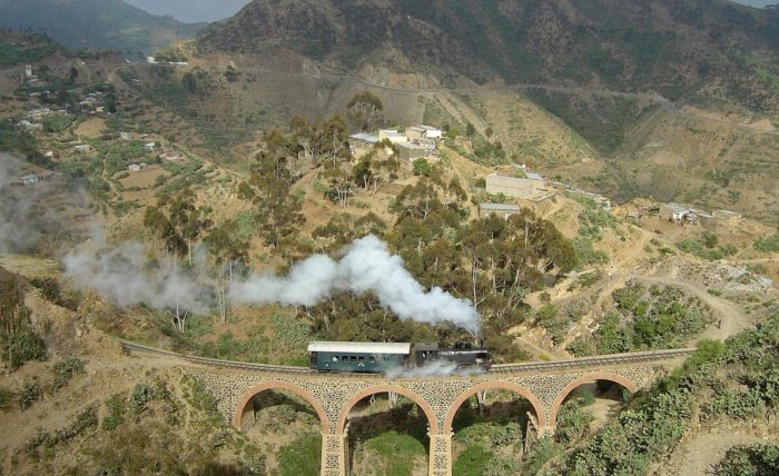 Trains in Eritrea