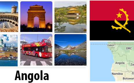 Angola Sightseeing Places