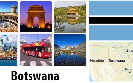 Botswana Sightseeing Places