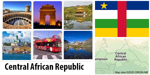 Central African Republic Sightseeing Places