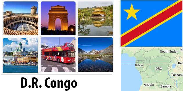 Democratic Republic of the Congo Sightseeing Places