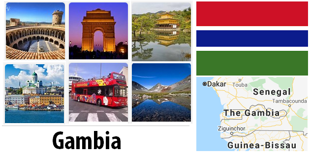 Gambia Sightseeing Places
