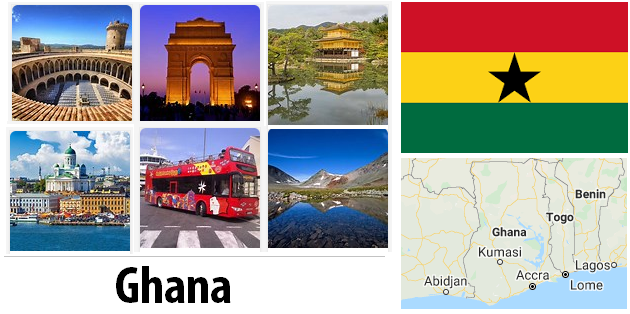 Ghana Sightseeing Places