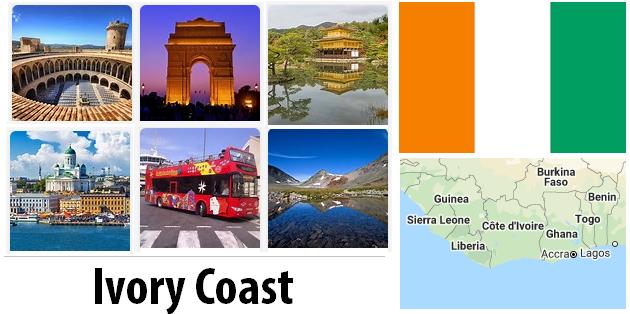 Ivory Coast Sightseeing Places
