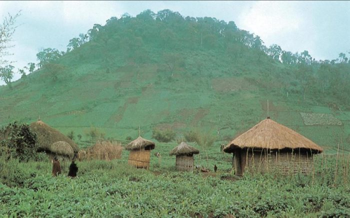 Rwanda is a mountainous country with tropical climate
