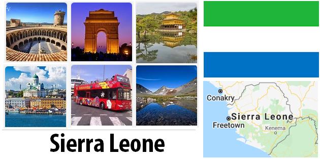Sierra Leone Sightseeing Places