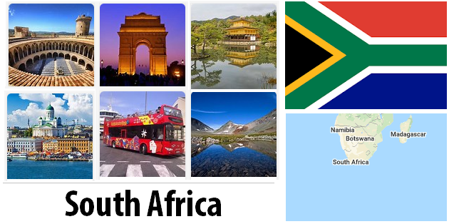 South Africa Sightseeing Places