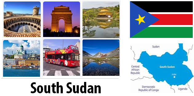 South Sudan Sightseeing Places