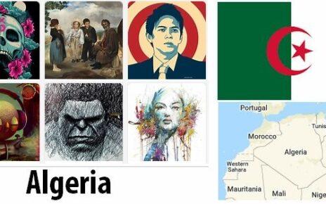 Algeria Arts and Literature