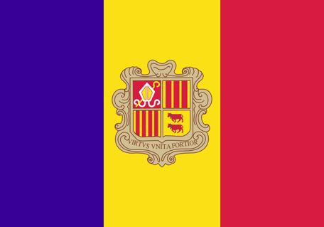Andorra Emoji Flag