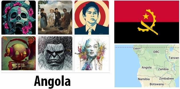 Angola Arts and Literature