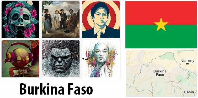 Burkina Faso Arts and Literature