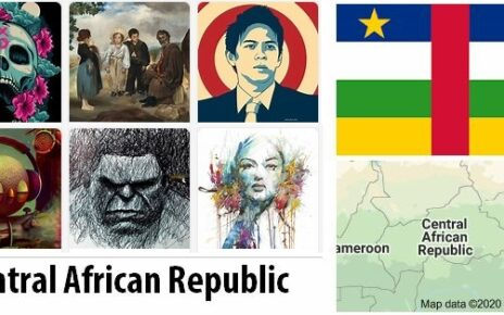 Central African Republic Arts and Literature