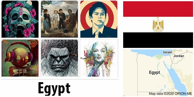Egypt Arts and Literature