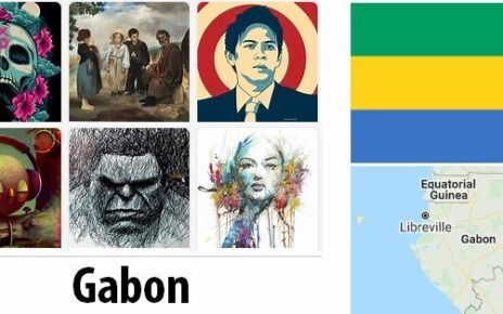 Gabon Arts and Literature