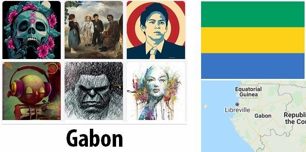 Gabon Arts and Literature