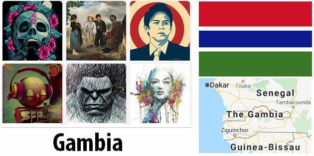 Gambia Arts and Literature