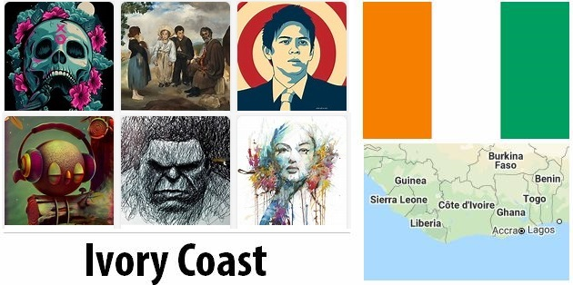 Ivory Coast Arts and Literature
