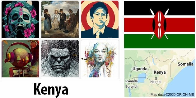 Kenya Arts and Literature