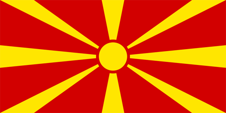 Macedonia Emoji Flag