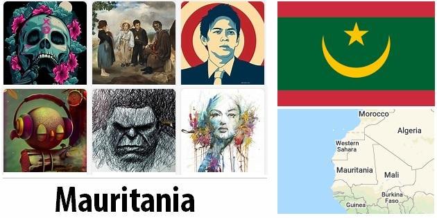Mauritania Arts and Literature