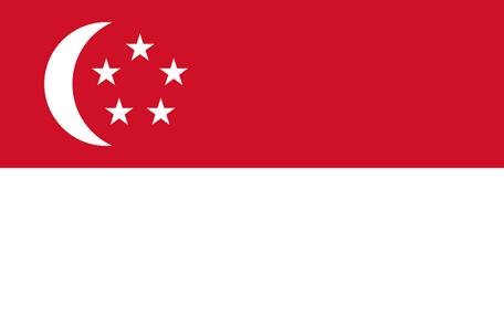Singapore Emoji Flag