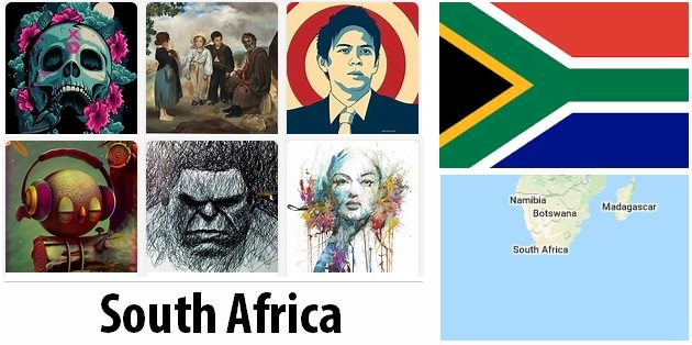 South Africa Arts and Literature