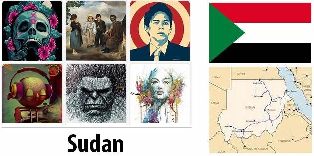 Sudan Arts and Literature