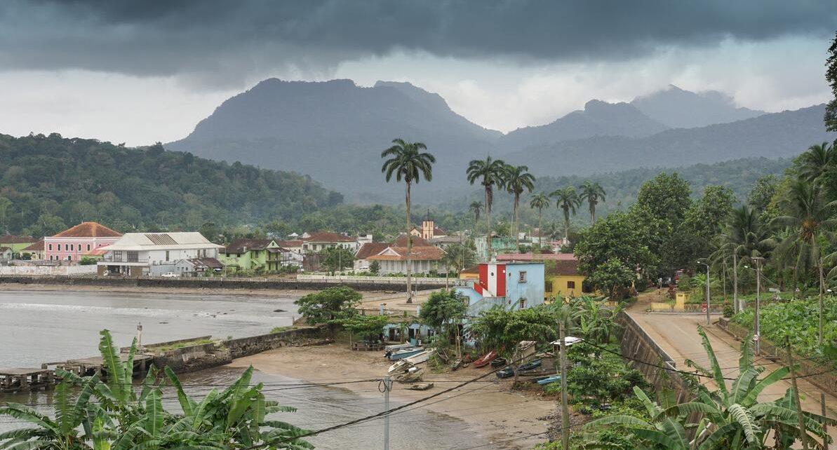 The geography of São Tomé and Príncipe