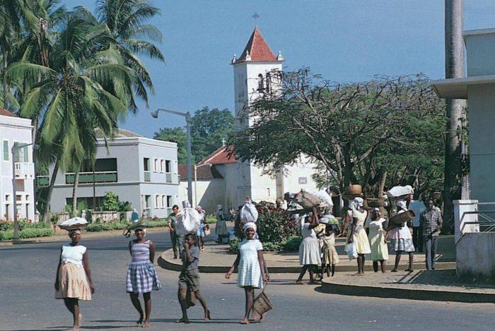 From the capital São Tomé