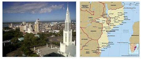 Mozambique Territory and Cities